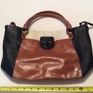 Elliott Lucca leather bag.